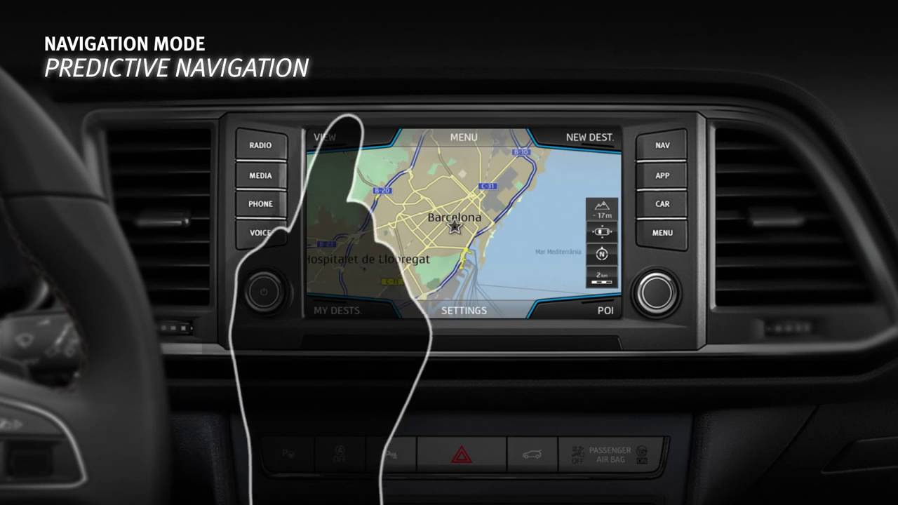 navigation tutorial infotainment system seat ateca 2016 youtube. Black Bedroom Furniture Sets. Home Design Ideas