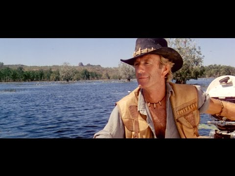 Crocodile Dundee  river , silent rushes