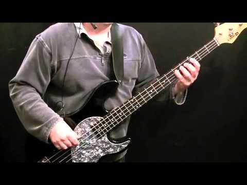 How To Play Bass Guitar To Little Green Bag (Part 1) - Reservoir Dogs - George Baker