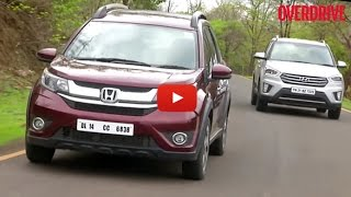 Honda BR-V v Hyundai Creta - Petrol-Automatic Comparative Review