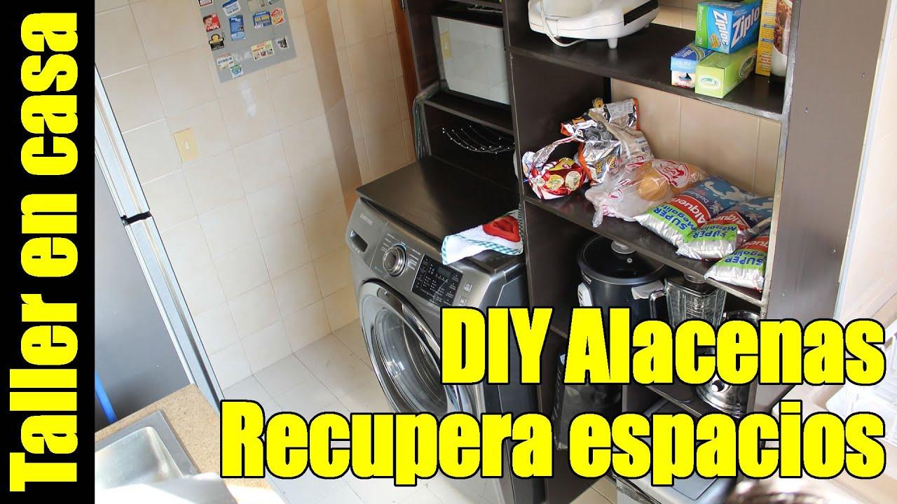 Como hacer muebles de cocina en mdf alacenas diy pantry for Como armar mi cocina