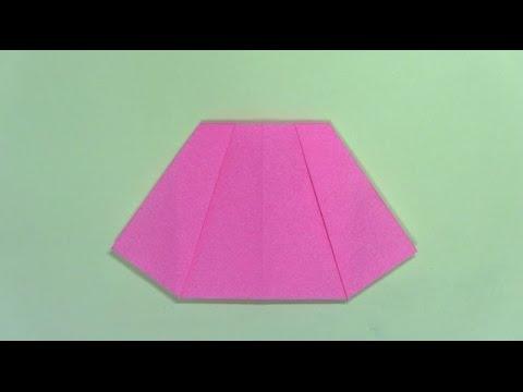 簡単 折り紙:折り紙 洋服-youtube.com
