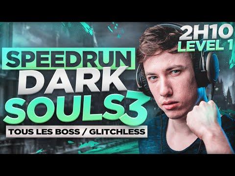 DARK SOULS III  All Boss  SL1  Glitchless  2h10m37s