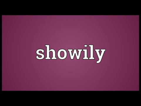 Header of showily