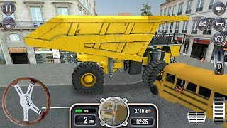 Construction Simulator #5 - Extreme Trucks Free Ride - Android Gameplay