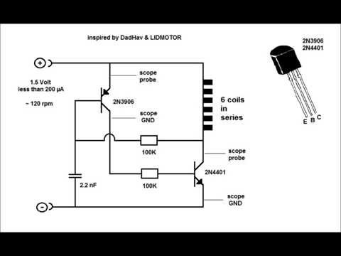 Brushless DC controller circuit and 5.25in HDD motor