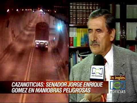 Senador Da Mal Ejemplo, Jorge Enrique Gómez - YouTube
