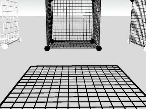 DIY 14 Inch x 14 Inch Vinyl Covered Wire Mini Grid Panels.avi - YouTube