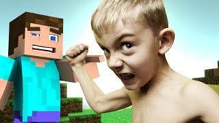 Little Kid TROLLED HARD in Minecraft (MQEL)