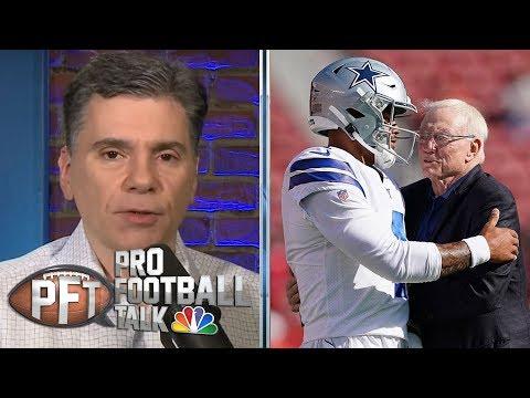 Will Jerry Jones' Patience Last With Dak Prescott Negotiations? | Pro Football Talk | NBC Sports