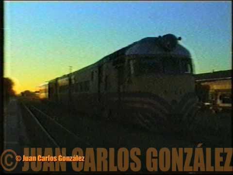 Coche Motor Ganz Mavag 61 - Tren : 2705 - 2706 - Servicio Santa Fe - Añatuya y viceversa