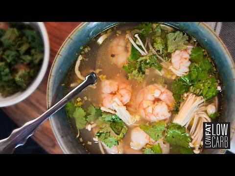 Easy Thai Shrimp Soup {Delicious}