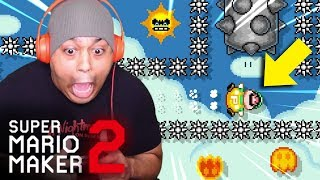 THIS NEW UPDATE GONNA BE THE END OF ME! [SUPER MARIO MAKER 2] [#44]