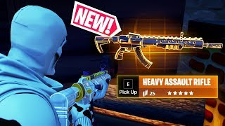 *NEW* HEAVY ASSAULT RIFLE Is OP..!!! | Fortnite Funny and Best Moments Ep.624