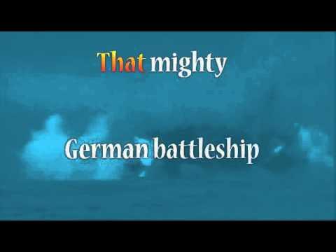 Johnny Horton Karaoke - Sink The Bismarck