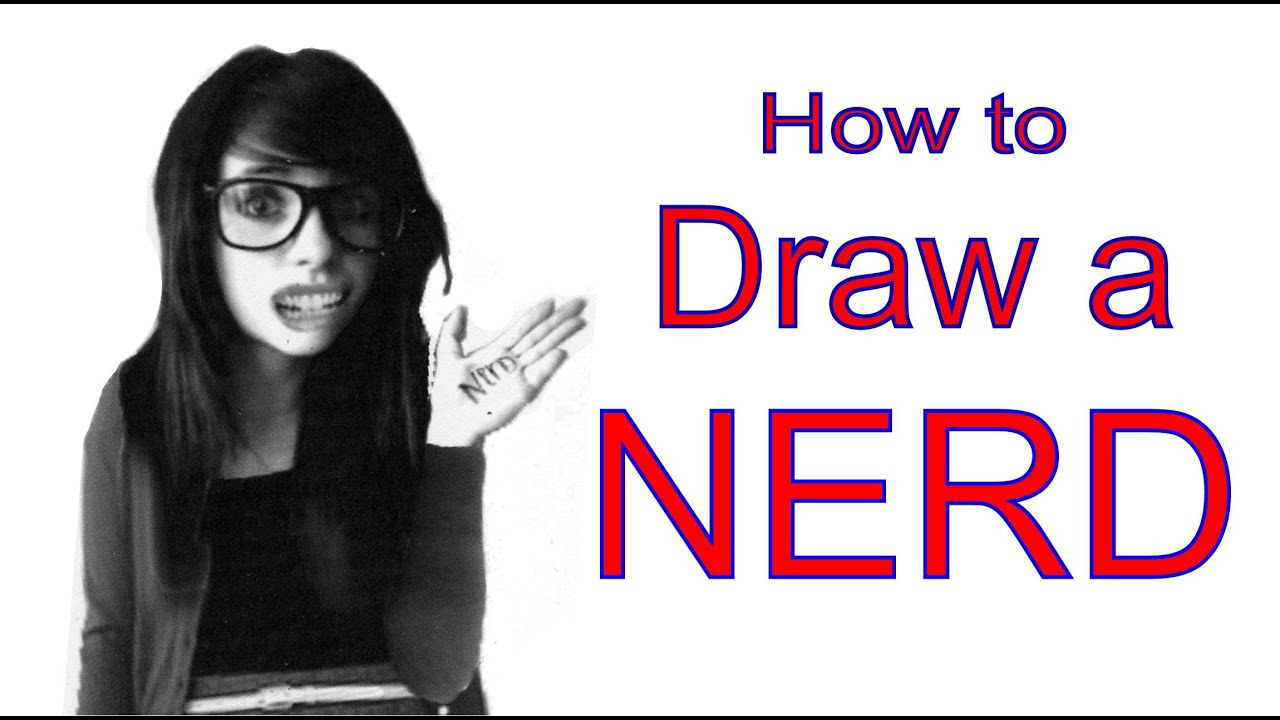 How To Draw A Female Nerd Step By