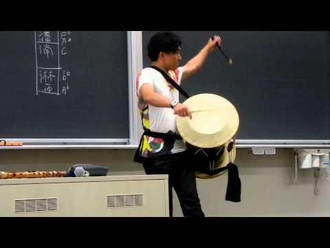 韓国伝統楽器の演奏者; traditional korean music performer