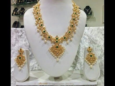 10f1aad18c Under 10 Gram Gold Necklaces Designs - YouTube