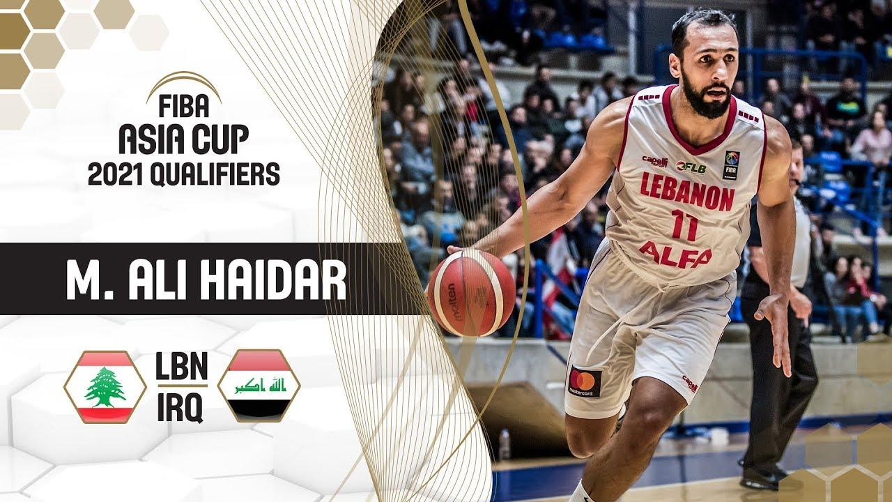 Mohamed Ali Haidar leads Lebanon to victory - FIBA Asia Cup 2021
