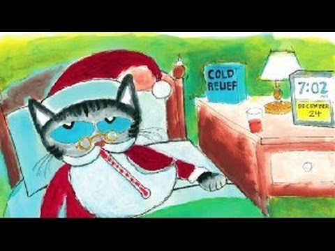 PETE THE CAT SAVES CHRISTMAS Read Along Aloud Story Book For Children and Kids