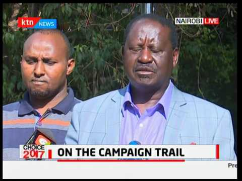 Choice 2017: NASA and Jubilee intensify campaigns