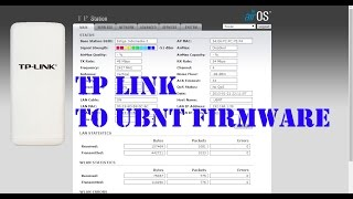 Flashing Tp-Link ke Ubiquiti | Firmware Ns2
