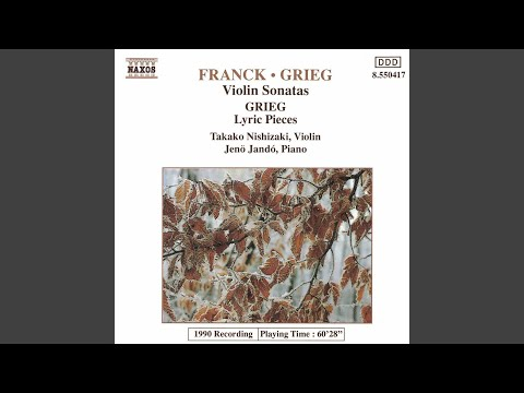 Lyric Pieces, Op. 71: No. 7, Efterklang (arr. V. Godar)
