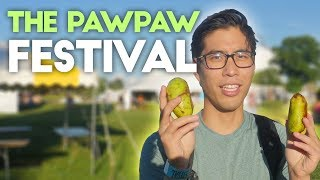 The Paw Paw Festival | Trying Pawpaw Beer and Food, Starting Friction Fire, and Throwing Atlatls