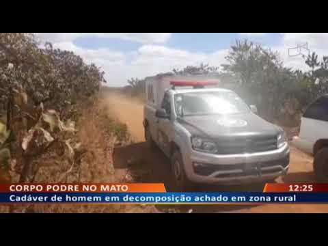 DF ALERTA -  Cadáver de homem em decomposição achado em zona rural