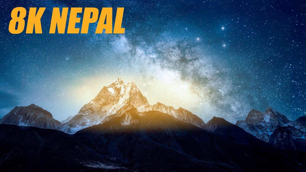 Nepal in 8K HDR 60FPS DEMO ULTRA HD