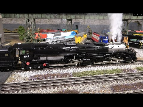 Lionel's O Scale Big Boy First Run Edition Steam Locomotive Smokin' Whistle and Sound! 4-8-8-4!