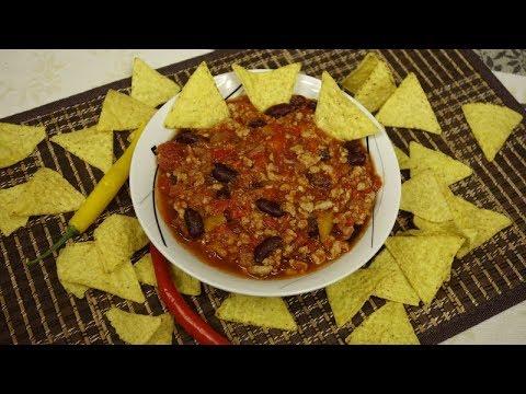 Chili Con Carne – Danie Jednogarnkowe – do ryżu, pieczywa lub makaronu