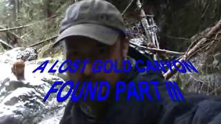 A Lost Gold Canyon Found Part III