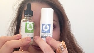 OZ Naturals and my Skincare routine with Hyaluronic Acid