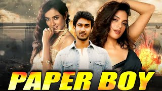 Paper Boy Full South Indian Hindi Dubbed Zabardast Movie | Telugu Hindi Dubbed Movies