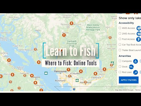Learn To Fish: Where To Fish - Online Tools | GoFishBC