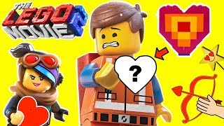 Find Emmet's Lego Heart! THE LEGO MOVIE 2 VALENTINES DAY HEART GAME w/ Surprise Toys thumbnail
