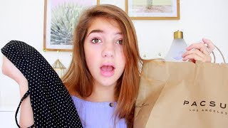 I tried shopping at stores I've never been to: Pacsun
