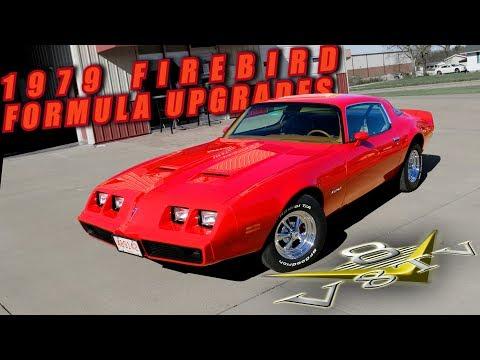 1979 Pontiac Firebird Formula 400 Holley Sniper EFI Gear Vendor Overdrive V8 Speed & Resto Shop