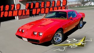 1979 Pontiac Firebird Formula 400 Holley Sniper EFI Gear Vendor Overdrive V8 Speed & Resto Shop