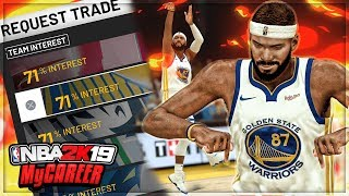 I Demanded A Trade To The Golden State Warriors! Nba 2k19 My Career Mode |gameplay #12