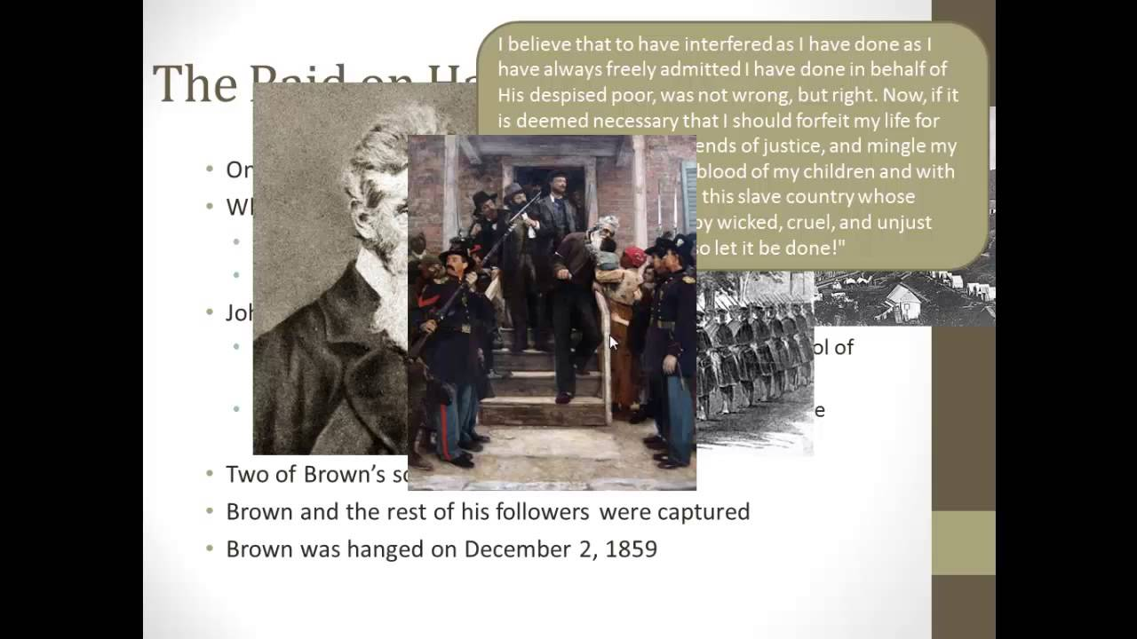apush review john brown and harpers ferry apush review john brown and harpers ferry