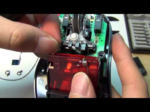 Logitech G500s Laser Gaming Mouse teardown specs inside part 1