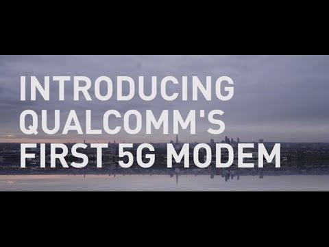 Meet Snapdragon X50 – Qualcomm Technologies' First 5G Modem