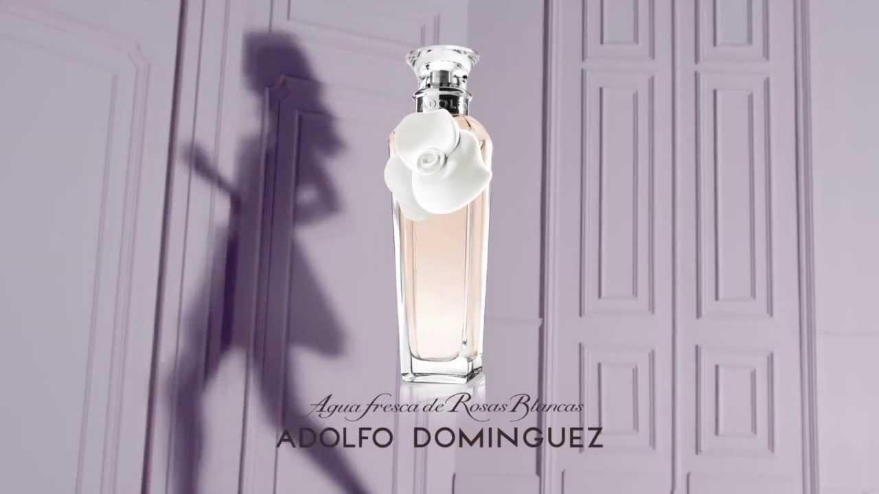 Spot de agua fresca de rosas blancas el ltimo perfume for Ultimas noticias sobre adolfo dominguez