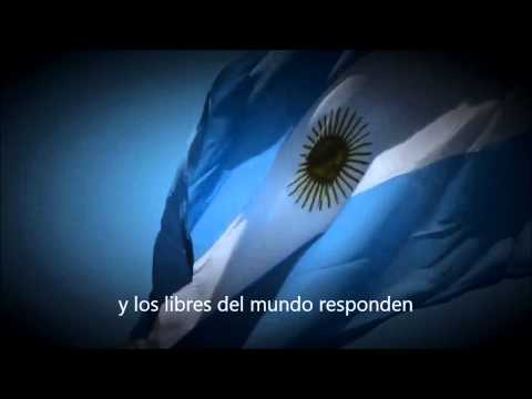 Himno nacional argentino subtitulado