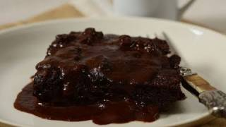 Chocolate Pudding Cake Recipe Demonstration - Joyofbaking.com