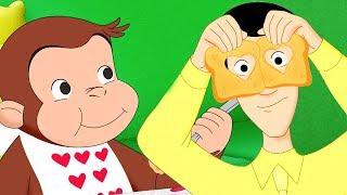Jorge el Curioso en Español ❤️Feliz Día de San Valentín❤️  Compilación  Caricaturas Para Niños