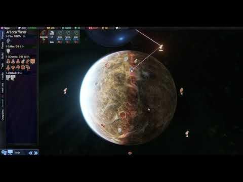 AI War 2: DLC2 Chain Lightning First Tests  