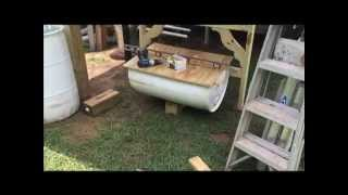 "Building A Rabbit Hilton ""hutch"" For Vermacomposting And Gardening"